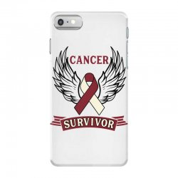 cancer survivor head and neck cancer for light iPhone 7 Case | Artistshot