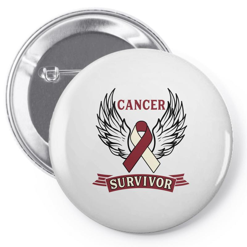 Cancer Survivor Head And Neck Cancer For Light Pin-back Button | Artistshot