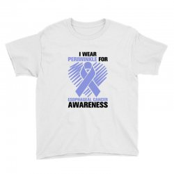 i wear periwinkle for light Youth Tee | Artistshot
