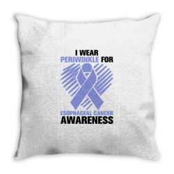 i wear periwinkle for light Throw Pillow | Artistshot