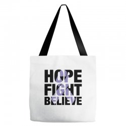hope fight believe for light Tote Bags | Artistshot