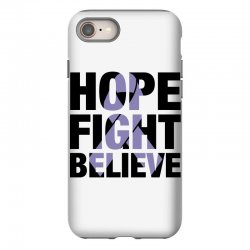 hope fight believe for light iPhone 8 Case | Artistshot