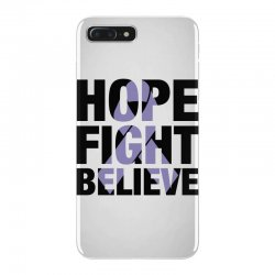 hope fight believe for light iPhone 7 Plus Case | Artistshot