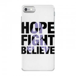 hope fight believe for light iPhone 7 Case | Artistshot