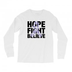 hope fight believe for light Long Sleeve Shirts | Artistshot