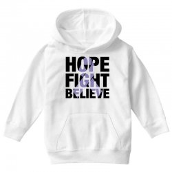 hope fight believe for light Youth Hoodie | Artistshot