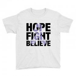hope fight believe for light Youth Tee | Artistshot