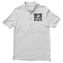hope fight believe for light Polo Shirt | Artistshot