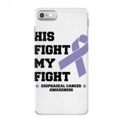 his fight my fight esophageal cancer for light iPhone 7 Case   Artistshot