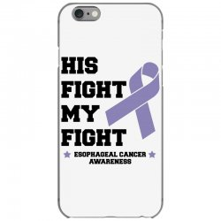 his fight my fight esophageal cancer for light iPhone 6/6s Case   Artistshot