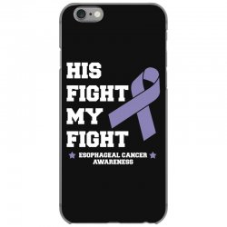 his fight my fight esophageal cancer for dark iPhone 6/6s Case | Artistshot