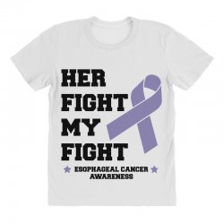 her fight my fight esophageal cancer for light All Over Women's T-shirt | Artistshot