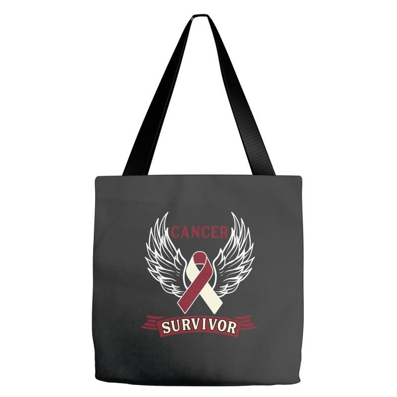 Cancer Survivor Head And Neck Cancer For Dark Tote Bags | Artistshot