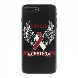 cancer survivor head and neck cancer for dark iPhone 7 Plus Case | Artistshot