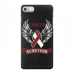 cancer survivor head and neck cancer for dark iPhone 7 Case | Artistshot