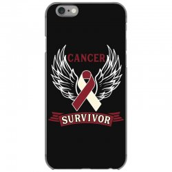cancer survivor head and neck cancer for dark iPhone 6/6s Case | Artistshot