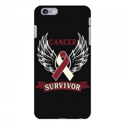 cancer survivor head and neck cancer for dark iPhone 6 Plus/6s Plus Case | Artistshot