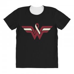 head and neck cancer wonder woman All Over Women's T-shirt   Artistshot
