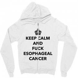 fuck esophageal for light Zipper Hoodie | Artistshot