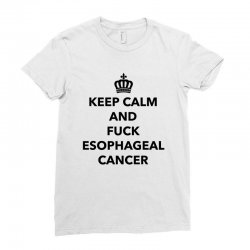 fuck esophageal for light Ladies Fitted T-Shirt | Artistshot