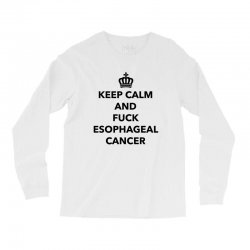 fuck esophageal for light Long Sleeve Shirts | Artistshot