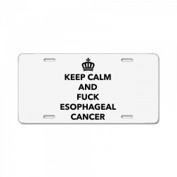 fuck esophageal for light License Plate | Artistshot