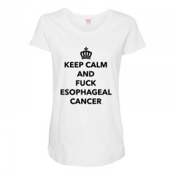 fuck esophageal for light Maternity Scoop Neck T-shirt | Artistshot