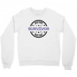 esophageal survivor for light Crewneck Sweatshirt | Artistshot