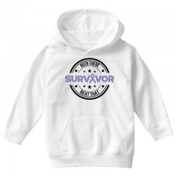 esophageal survivor for light Youth Hoodie | Artistshot
