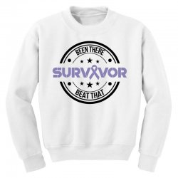 esophageal survivor for light Youth Sweatshirt | Artistshot