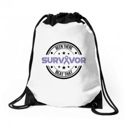 esophageal survivor for light Drawstring Bags | Artistshot