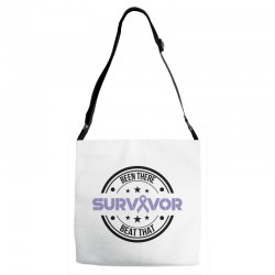 esophageal survivor for light Adjustable Strap Totes | Artistshot