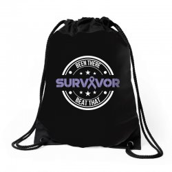 esophageal survivor for dark Drawstring Bags | Artistshot