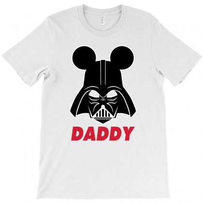 Star Wars Darth Vader Family Daddy T-shirt Designed By Toweroflandrose