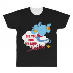 did you rub my lamp All Over Men's T-shirt   Artistshot