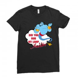 did you rub my lamp Ladies Fitted T-Shirt   Artistshot