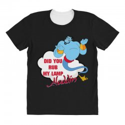 did you rub my lamp All Over Women's T-shirt   Artistshot