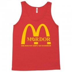 mordor one does not simply eat in mordor Tank Top | Artistshot