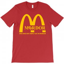 mordor one does not simply eat in mordor T-Shirt | Artistshot