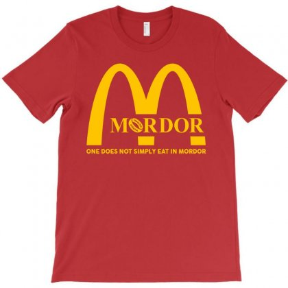 Mordor One Does Not Simply Eat In Mordor T-shirt Designed By Toweroflandrose