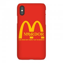 mordor one does not simply eat in mordor iPhoneX Case | Artistshot