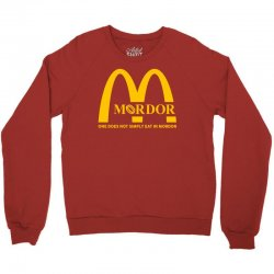 mordor one does not simply eat in mordor Crewneck Sweatshirt | Artistshot