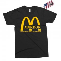 mordor one does not simply eat in mordor Exclusive T-shirt | Artistshot
