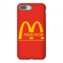 mordor one does not simply eat in mordor iPhone 8 Plus Case | Artistshot