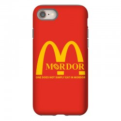 mordor one does not simply eat in mordor iPhone 8 Case | Artistshot