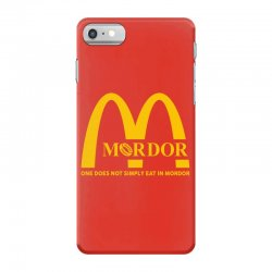 mordor one does not simply eat in mordor iPhone 7 Case | Artistshot