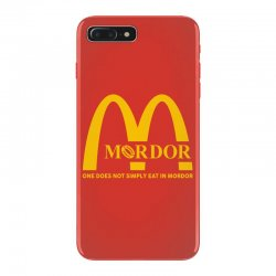 mordor one does not simply eat in mordor iPhone 7 Plus Case | Artistshot