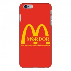 mordor one does not simply eat in mordor iPhone 6 Plus/6s Plus Case | Artistshot