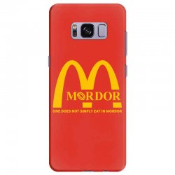 mordor one does not simply eat in mordor Samsung Galaxy S8 Plus Case | Artistshot
