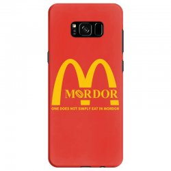 mordor one does not simply eat in mordor Samsung Galaxy S8 Case | Artistshot